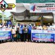 Ketua Gugus Tugas Covid-19 Sergai Ir H Soekirman Menerima Bantuan Dari Apindo