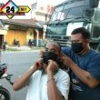 Tim Jurnalis Hebat Membagikan 200 Masker Kepada Para Pengguna Jalinsum