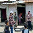 Keluarga Besar FKPPI Rayon 06 Bilah Hilir , Bagikan 150 Paket Sembako Kepada Warga