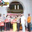 Polres Sergai dan Jajaran Serentak Bagikan 910 Paket Sembako, Dalam Rangka Sambut Hari Bhayangkara Ke 74