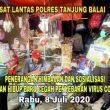 Sat Lantas Polres Tanjung Balai, Sosialisasi Tatanan Hidup Baru, Pencegahan Covid-19