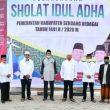 Pelaksanaan Shalat Idul Adha 1441 H di Sergai Berlangsung Khidmat