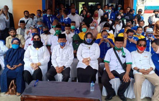 Tak Terbendung , Ribuan Massa Hantarkan Paslon BERHASIL Ke KPUD Labusel