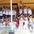Paslon Hebat Resmikan Posko Kecamatan Aek Kuo Dan Santuni Anak Yatim, Kaum Dhuafa
