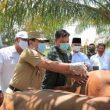 Bupati H. Sukiman Dukung , Warga Pagar Mayang Manfaatkan  Potensi Desa Dibidang Peternakan Untuk Tingkatkan Kesejahteraan