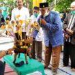 Cabup Labura hebat Hendriyanto, Sitorus,SE,MM di upah – upah masyarakat Bangun Rejo