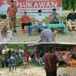"""Kampanye Calbup Rohul H.Sukiman ,""""Tiga Titik Di Batang Kumu ,Jurkam Syafaruddin Poti ,SH"""