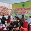 """Bupati H. Sukiman Ajak Seluruh Elemen Jalin Sinergitas,"""" Rakor Pengamanan Nataru 2021 Bersama wagubri secara Virtual"""