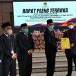 KPU Labura Gelar Rapat Pleno Terbuka Penetapan Pasangan Calon Terpilih Bupati dan Wakil Bupati Kabupaten Labuhanbatu Utara Tahun 2020