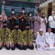 Jelang Ramadhan 1442 H , Kejati Sumut Doa Bersama Dengan Anak- Anak Pesantren
