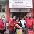 800 Bungkus Takjil Untuk Berbuka Puasa Ramadhan 1442 H Dan Masker Berlangsung Sukses Dibagi DPD PSI Kota Medan Kepada Pengguna Jalan