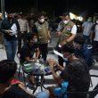 Plh Bupati Dan Kapolres Rohul , Laksanakan Giat  Yustisi Covid-19 Di Tambusai Utara