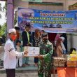Peringati Hari Bhakti TNI AU Ke-74 Tahun , Satradar 232/Dumai Bagikan Paket Sembako