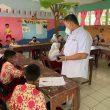 Menghadapi PTM, Bupati Pantau Terus Kebersihan Sekolah